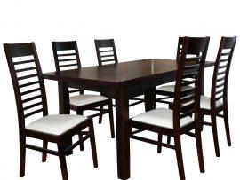 Komplet stół i krzesła drabinkowe