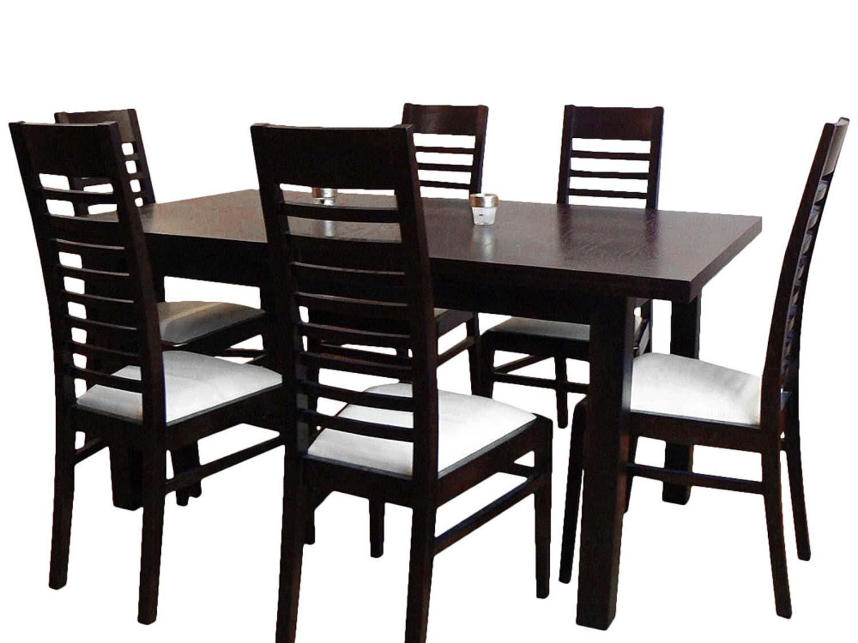 Krzesło drabinkowe ze stołem