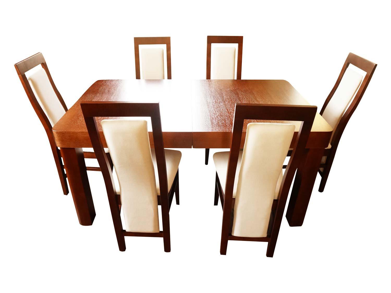 Krzesło z długim oparciem