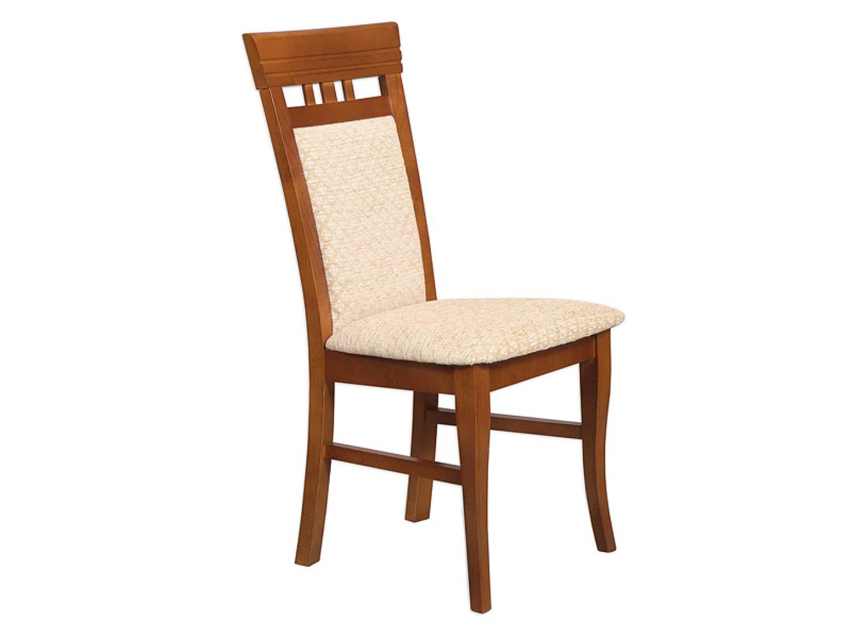 Klasyczne orzechowe krzesło do salonu