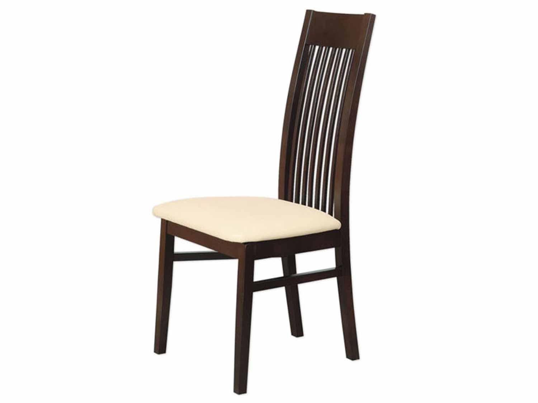 Krzesło ciemny orzech