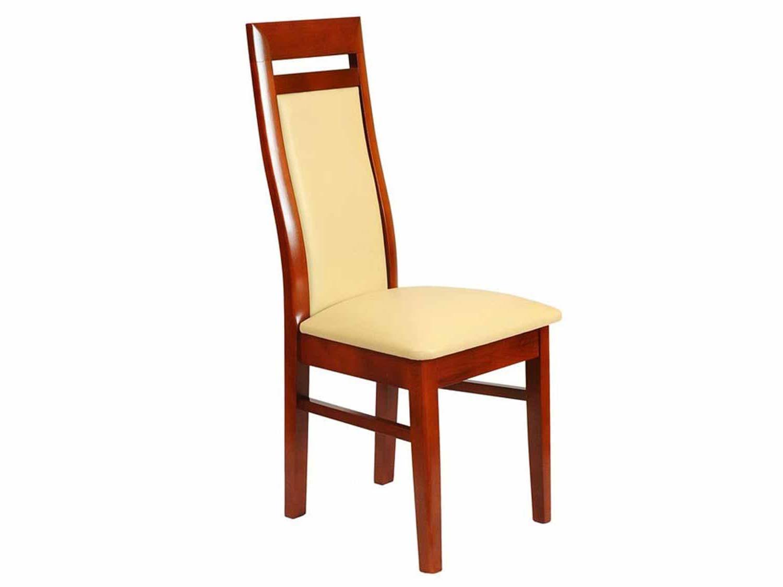 Krzesło czerwony orzech