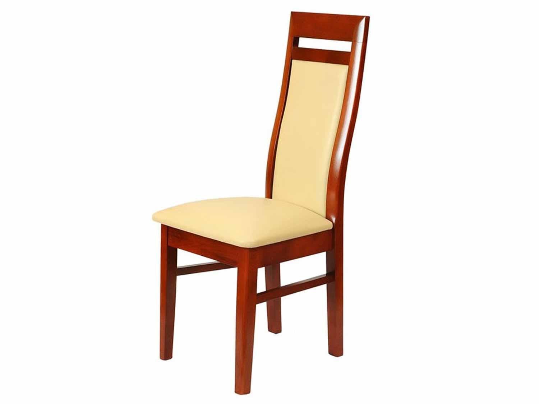 Krzesło w kolorze mahoniu