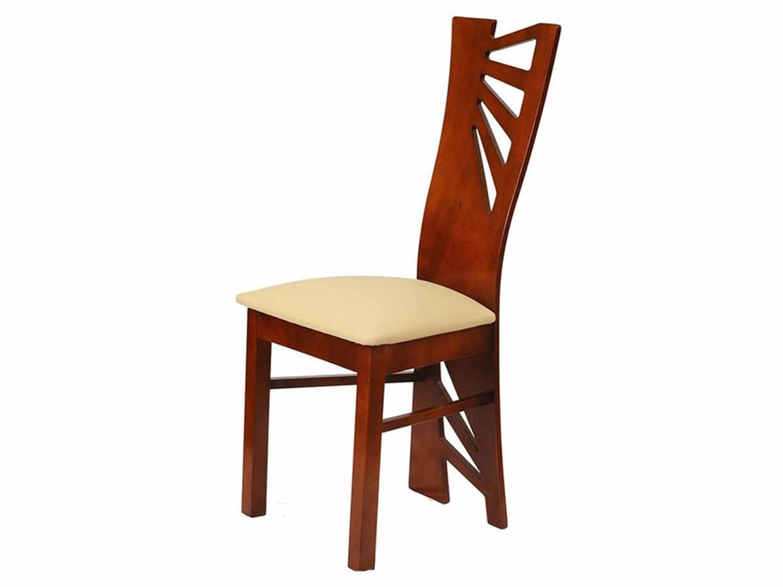 Nowoczesne krzesło drewniane