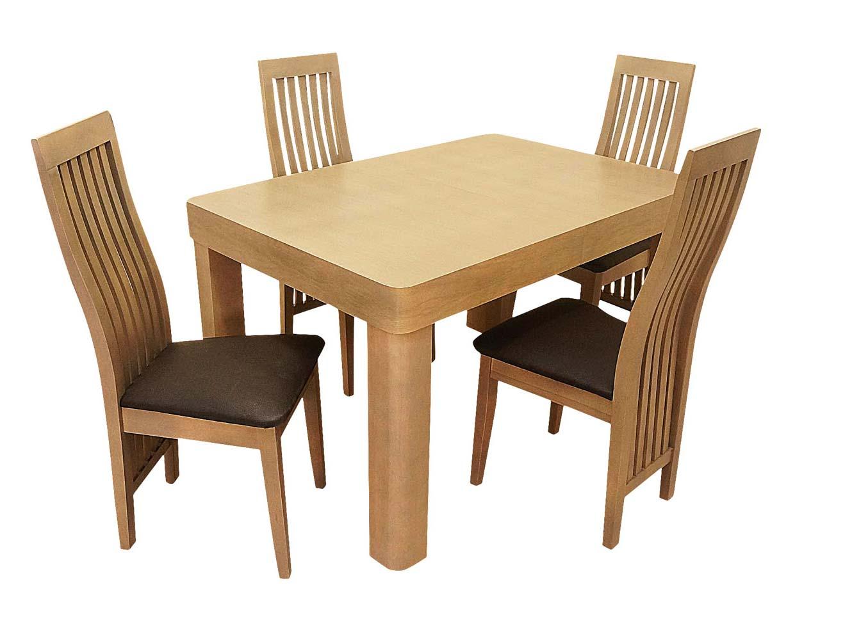 Jasny zestaw krzesła i stół