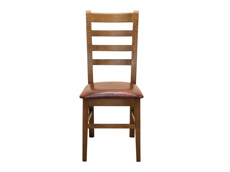 Piękne stylowe krzesło drewniane