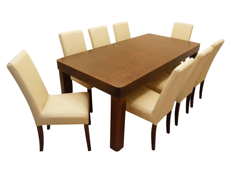 Wygodne kremowe krzesło