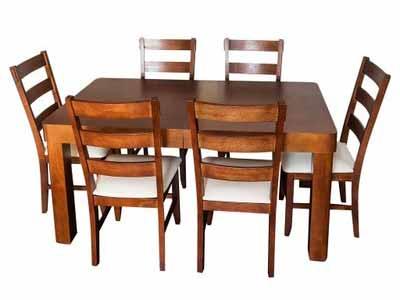 Komplet do jadalni stół i krzesła