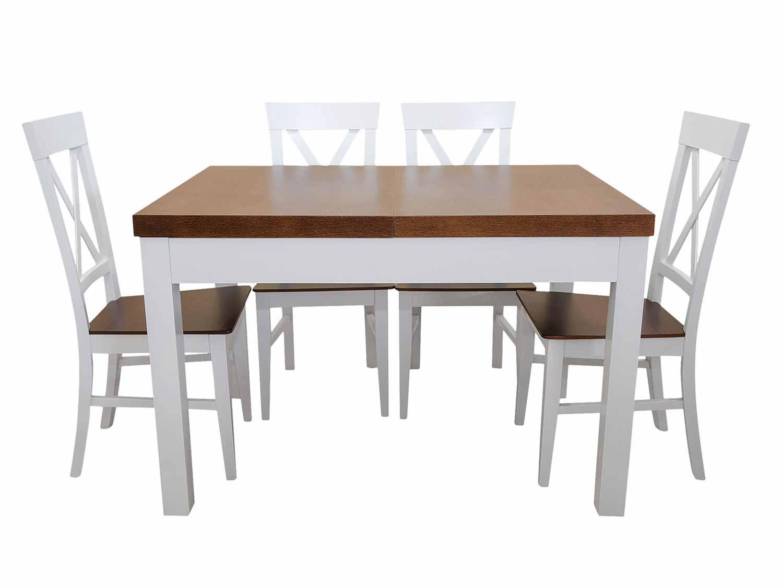 Biały stół do kuchni