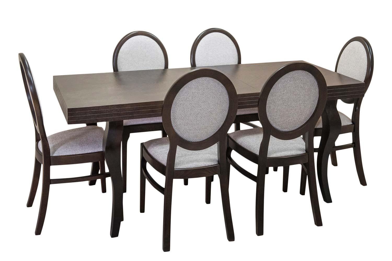 Stół Totti + 6 Krzeseł Milo