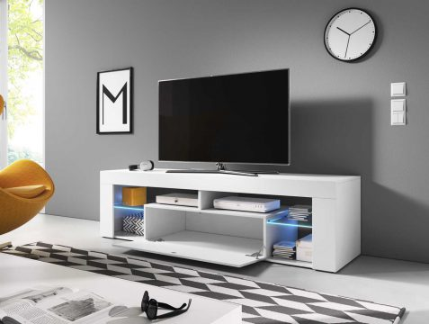 Szafka biała pod telewizor