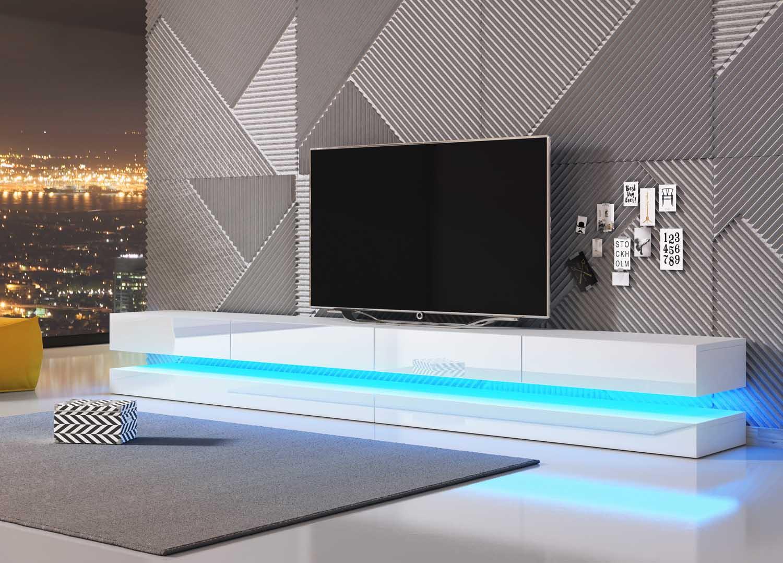 Szafka RTV Wisząca TV 280 cm Amsterdam Double