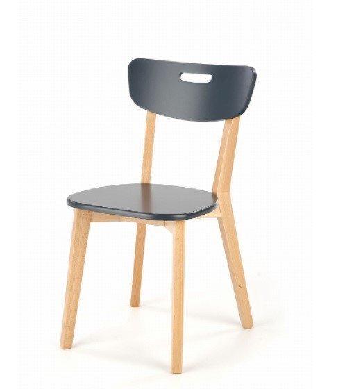 Krzesło do Kuchni z Drewnianym Oparciem Nicolas