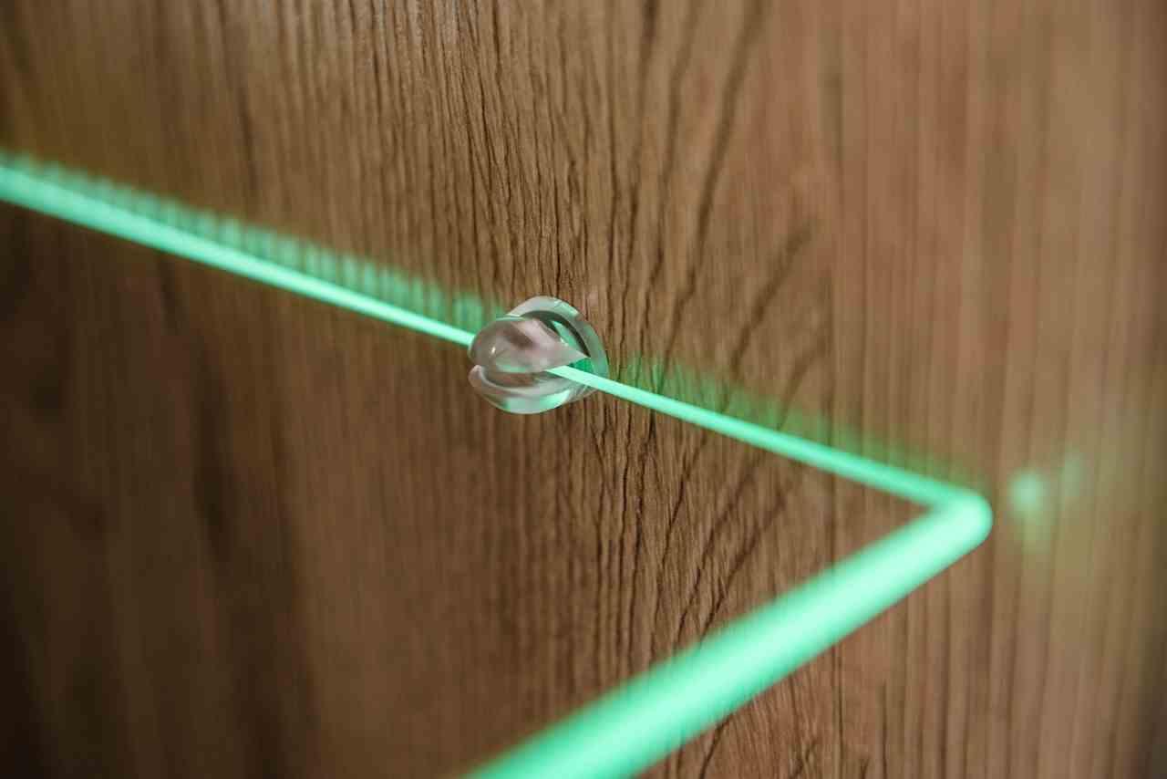 Meble z oświetleniem LED