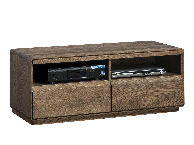 Mocna szafka RTV z drewna
