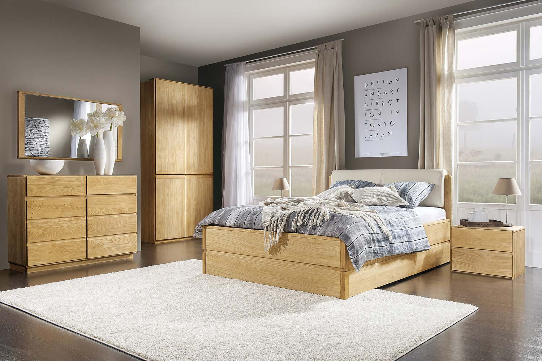 Komplet stylowych mebli do sypialni