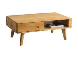 Drewniana ława z szufladą