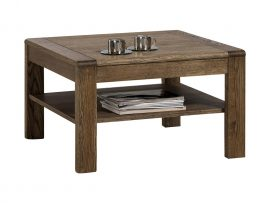 Elegancki stolik kawowy z drewna