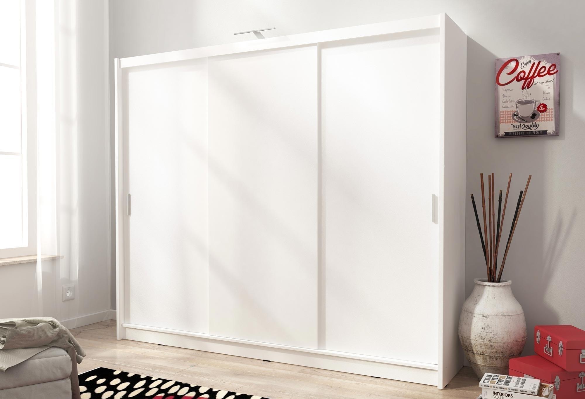 Pojemna szafa z drzwiami przesuwnymi Zefir I 250cm