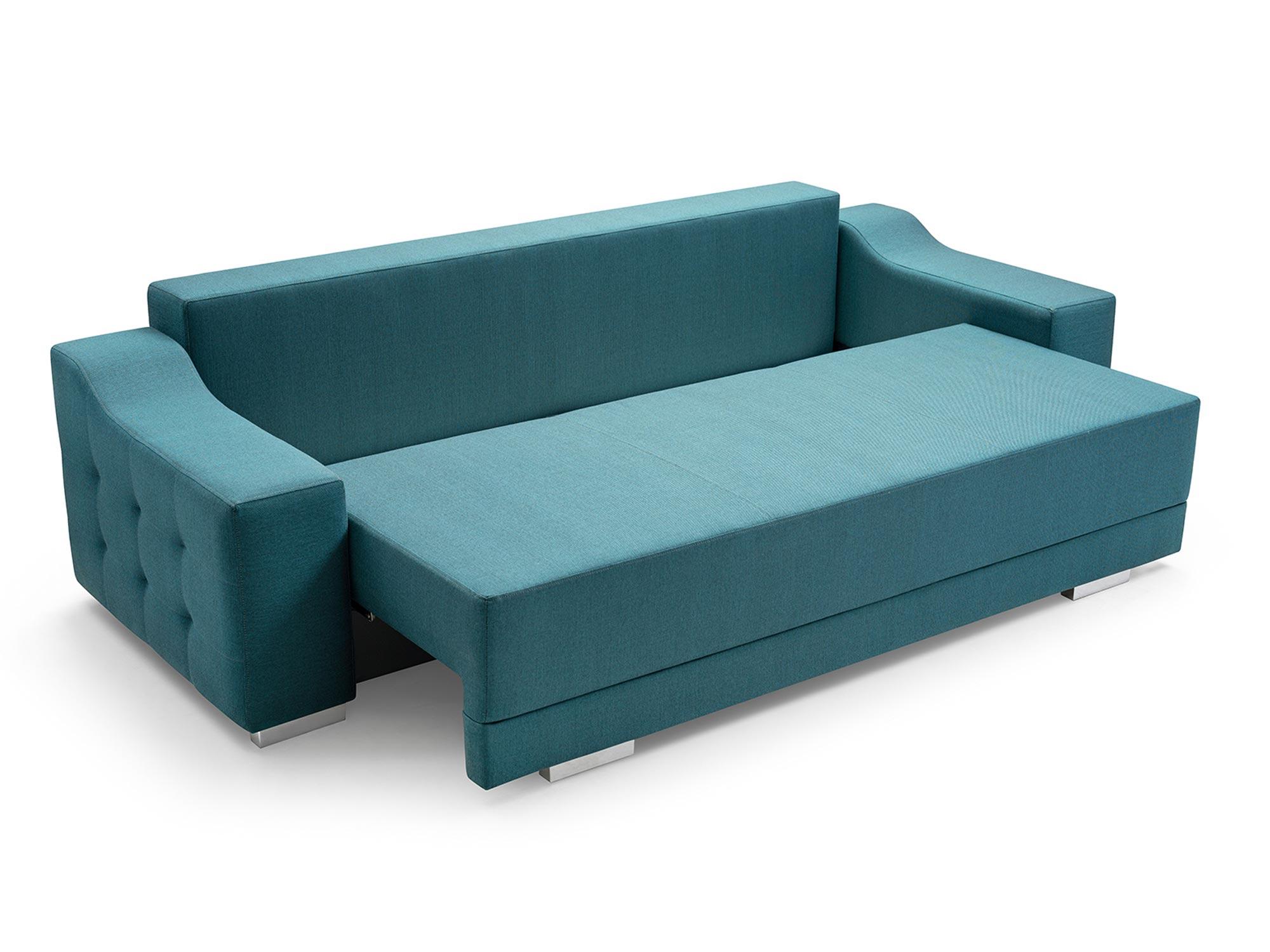Sofa 2 Osobowa z Funkcją Spania PALMAS rozkładanie